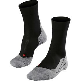 Falke RU4 - Calcetines Running Hombre - gris/negro
